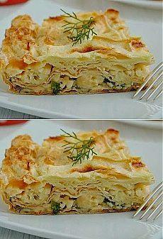 Лучшие кулинарные рецепты: Пирог из лаваша с сыром