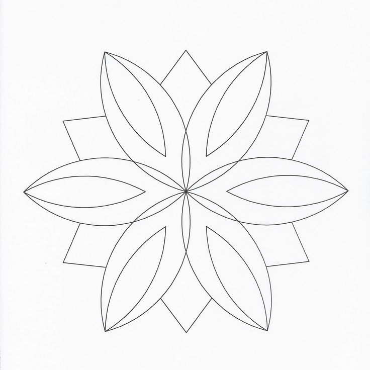 geometric butterfly coloring pages - photo #43