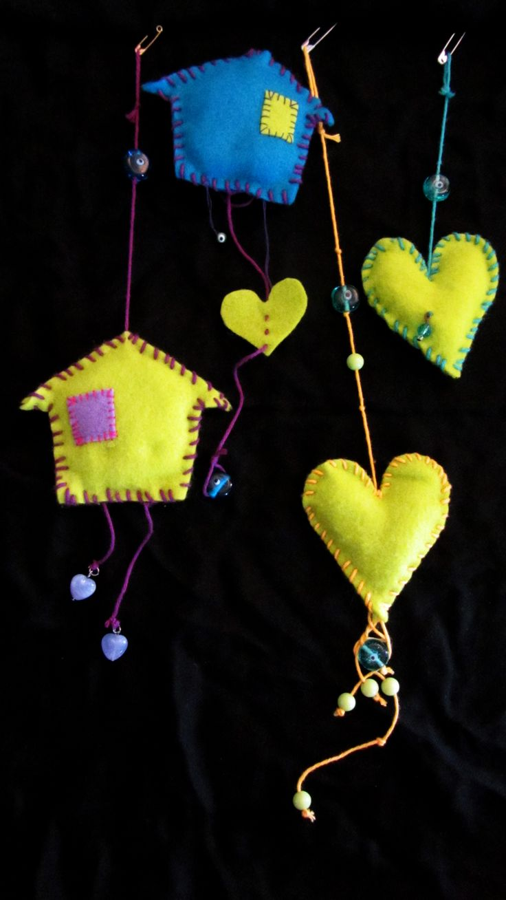 """The house of wonders"" and ""The beating heart""  by Elya. Brings good luck and good fortune!"