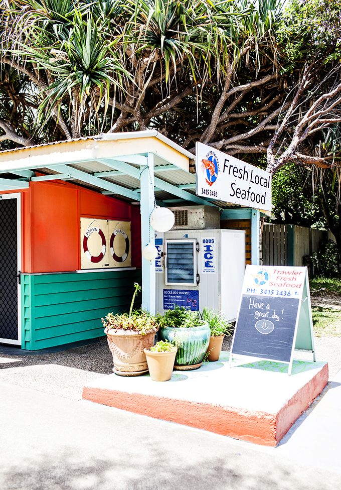 The Prawn Shack on North Stradbroke Island - Photo by Kara Rosenlund