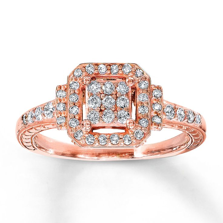 Kay Jewelers rose gold ring my other Christmas present I seriously need a