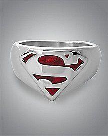 Logo Superman Ring