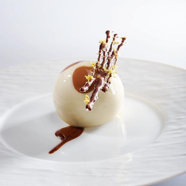 Tiramisu Asolo by Valrhona Pastry Chef Nicolas Botomisy made with Bahibe 46% and Jivara 40%!