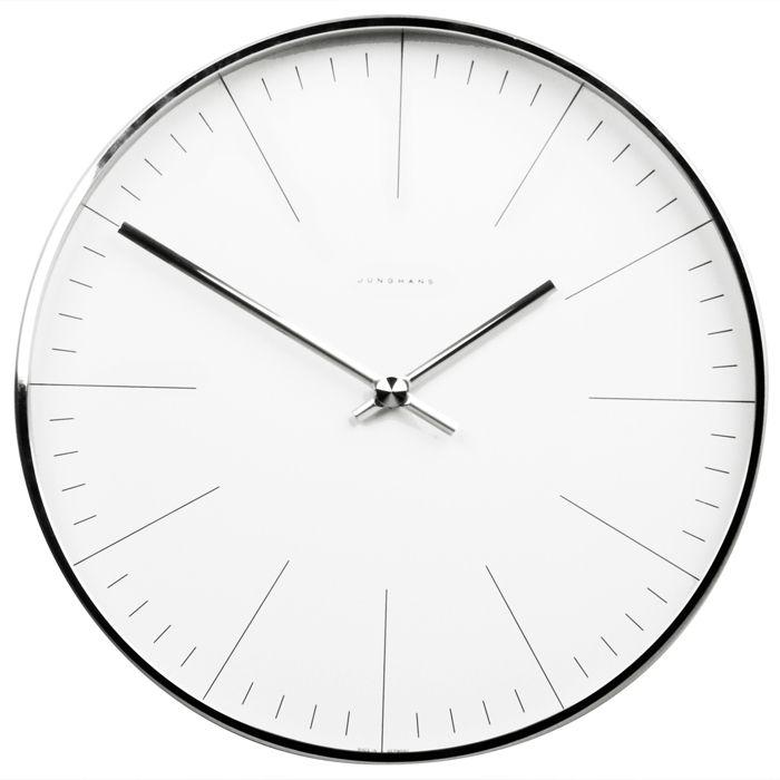 Wall clock from Junghans / Max Bill (€295.00)