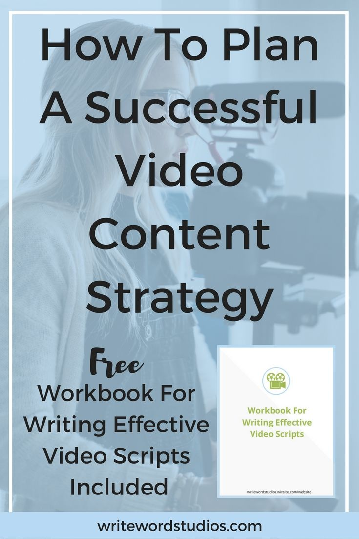 How To Plan A Successful Video Content Strategy