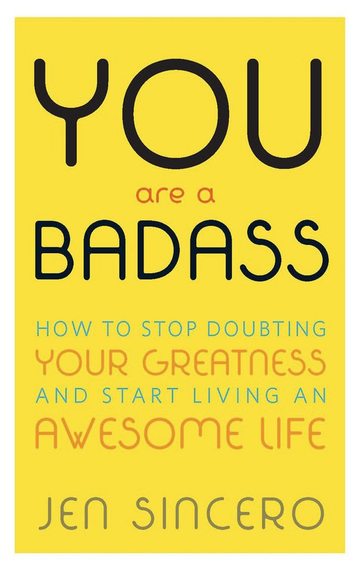 With a tone that reads like it's more best friend than a preachy, unreachable expert,You Are a Badassis one of the few self-help books that's both funny and helpful. It may place a lot ofemphasis on the spiritual, which can be distracting at times, but it all helps to feed into the book's main idea:Youare in charge of your life, and it's up to you to adopt a positive mindset and make changes. You Are a Badass:How to Stop Doubting Your Greatness and Start Living an Awesome Lifeby Jen…