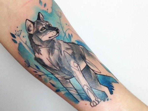 die besten 25 wolf tattoo bedeutung ideen auf pinterest wolf tattoo design wolf tattoos und. Black Bedroom Furniture Sets. Home Design Ideas
