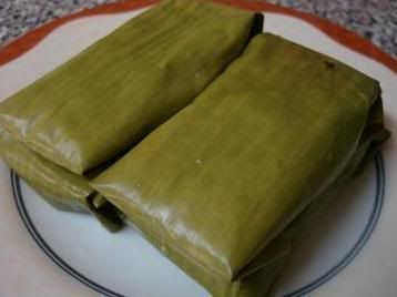 Banana Steam Cake (Nagasari)