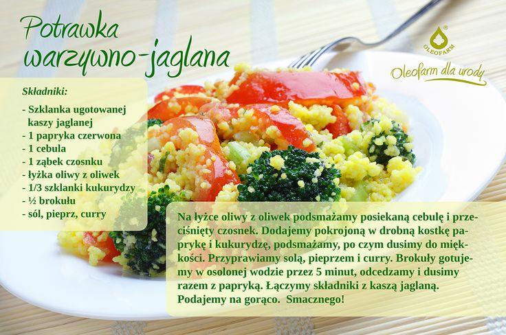 Potrawka warzywno-jaglana