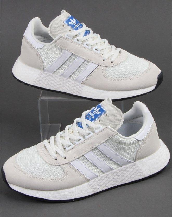 folleto Trivial Minero  Adidas Marathon Tech Trainers Off White | Adidas, Trainers ...