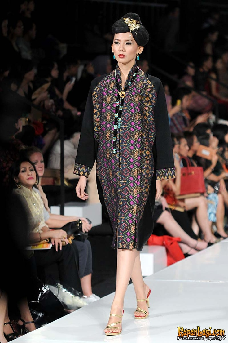 "'Tenun"", indonesian authentic fabric, designed by Oscar Lawalata"