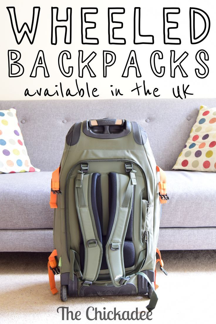It turns out it's not that easy to find the wheeled backpack options in the uk - a simple amazon search doesn't quite cut it! Here is a list of good ones with dimensions, weight and review summaries. Click through to see them!