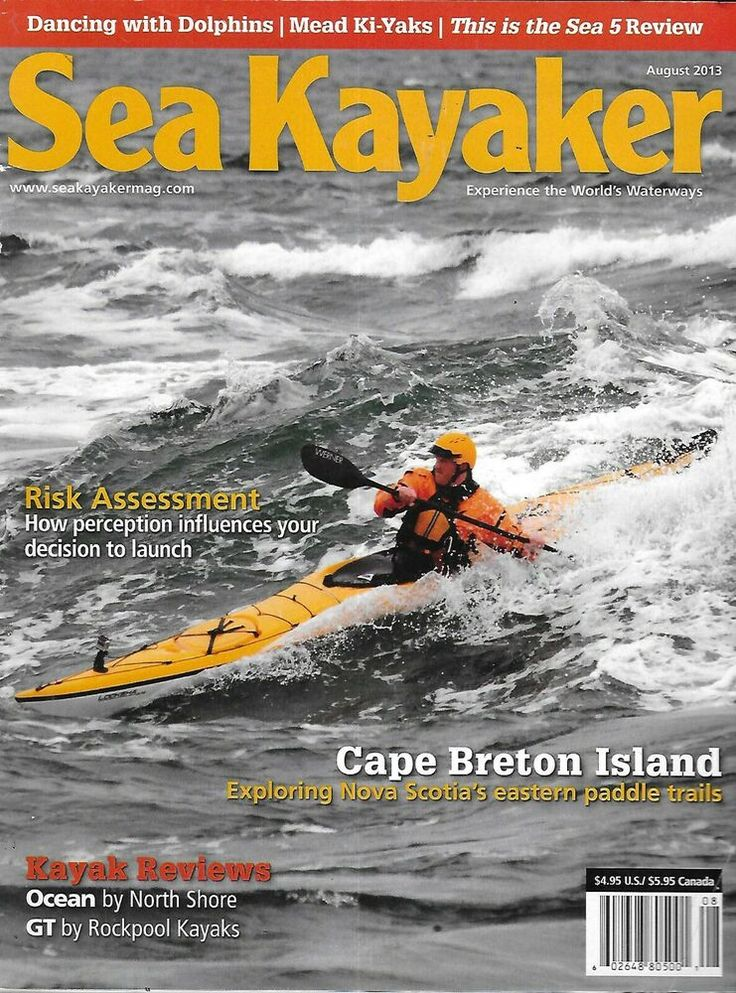 Sea Kayaker Magazine Cape Breton Island Risk Assessment