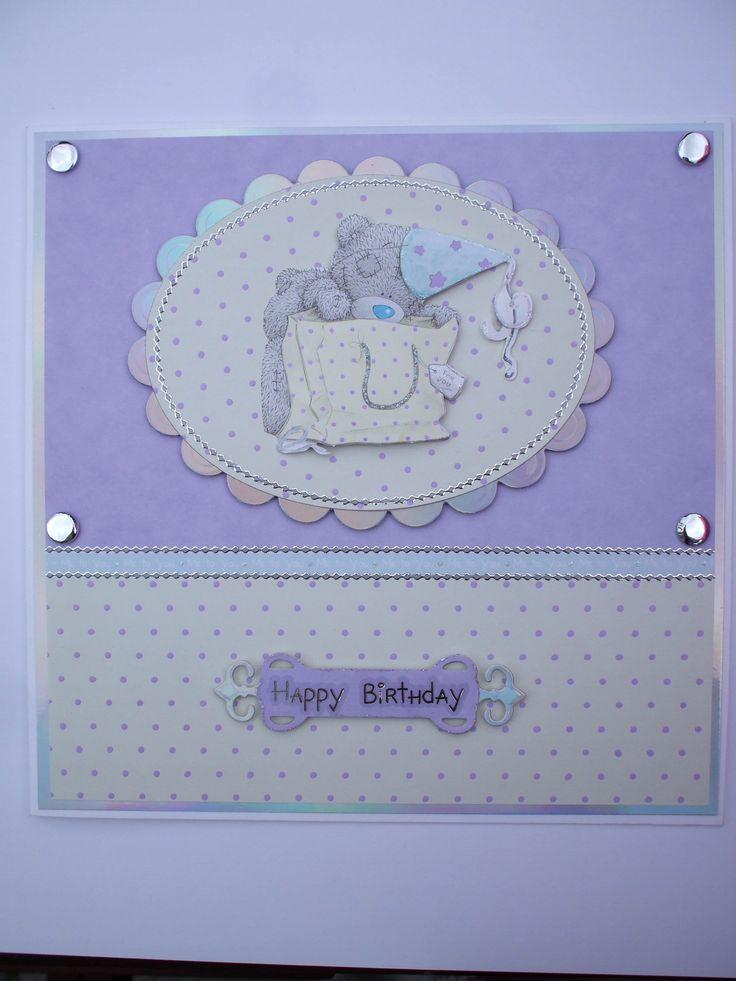 Handmade Tatty Teddy Birthday Card. 29 best Tatty ted cards images on Pinterest