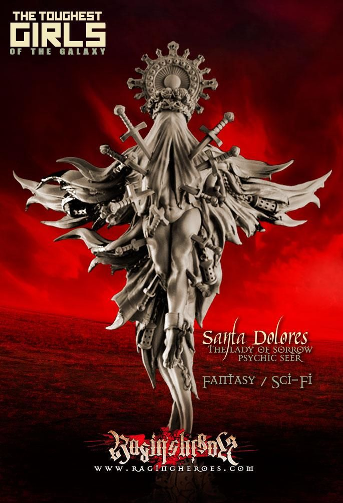 Santa Dolores, The Lady of Sorrow, Psychic Seer (Sisters - F/SF)