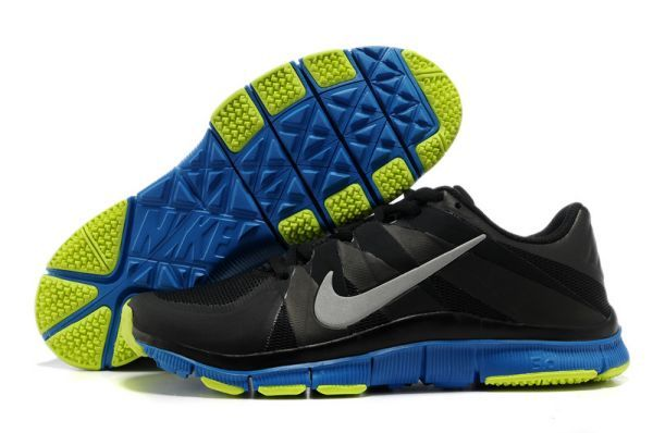 Nike Free Trainer 5.0 Men's Training Shoes Black/Royal-Volt