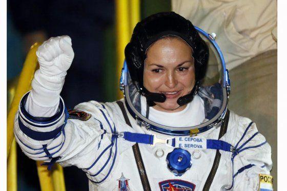 Primera mujer rusa al espacio
