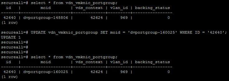 NSX Bytes: Friends Don't Let Friends Delete The VTEP PortGroup