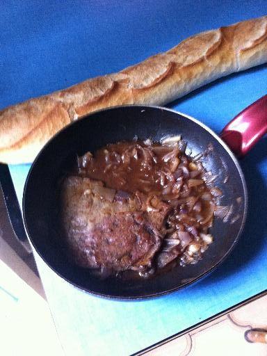 Foie de veau au vinaigre - Recette de cuisine Marmiton : une recette