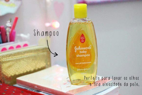 Perfeito para lavar os olhos e tirar a oleosidade da pele.