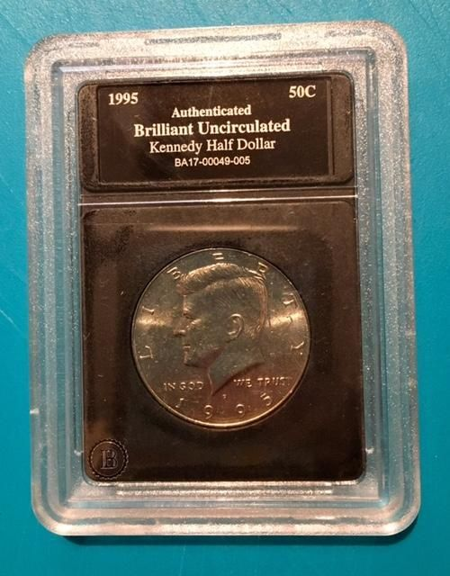 US Mint - 1995 JFK US Silver Half Dollar Coin Collection