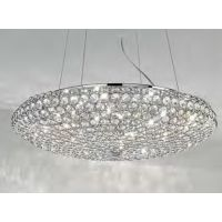 IDEAL LUX KING SP7 CROMO 087979