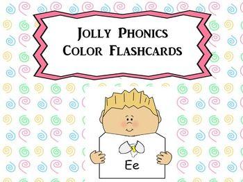 Jolly Phonics Flashcards