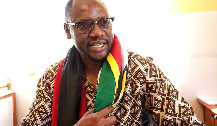 Photo: A photograph made available on 29 July 2016 shows Zimbabwe Pastor Evan Mawarire from the #ThisFlag social movement in Harare, Zimbabwe, 25 June 2016. EPA/AARON UFUMELI