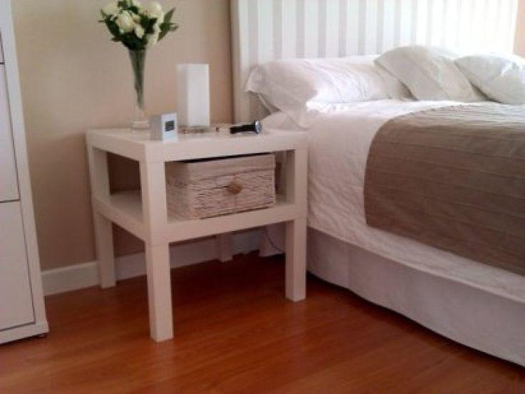 4 ideas para tunear una mesa lack de ikea bricolaje - Ikea mesa lack blanca ...