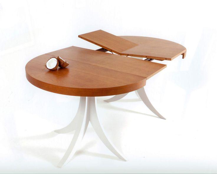 mesa extensible redonda oval comedor madrid   Casa Salón y zonas de ...