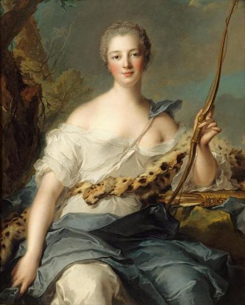 Jean-Marc Nattier, Madame de Pompadour en Diane (1746) - Jean-Marc Nattier — Wikipédia