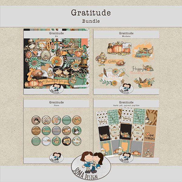 SoMa Design: Gratitude - Bundle