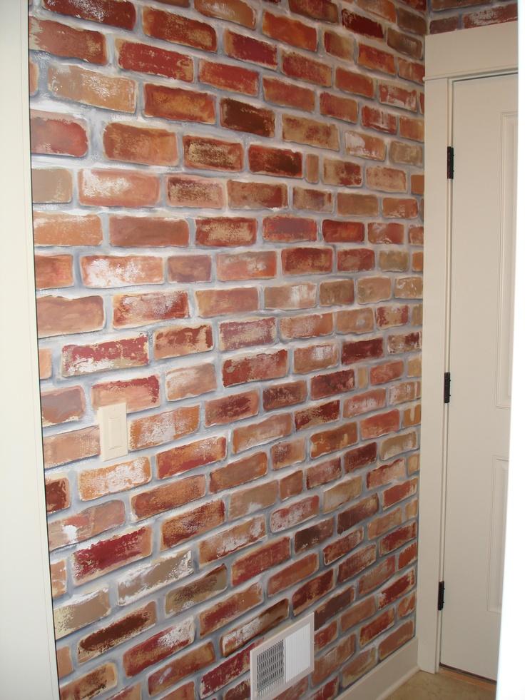 Best 25 Faux brick walls ideas on Pinterest