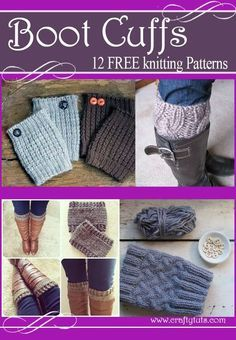 Punhos de inicialização livre de padrões de tricô