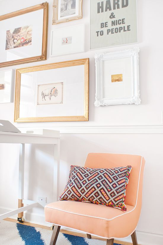 our Baba pillow via Yellow Brick Home