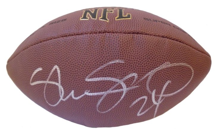 Shawn Springs Autographed NFL Wilson Composite Football, Proof Photo. Shawn Springs Signed NFL Football, Seattle Seahawks, New England Patriots, Washington Redskins, Ohio State Buckeyes, Proof  This is a brand-new Shawn Springs autographed NFL Wilson composite football.  Shawn signed the football in silver paint pen. Check out the photo of Shawn signing for us. ** Proof photo is included for free with purchase. Please click on images to enlarge. Please browse our website for additional NFL…