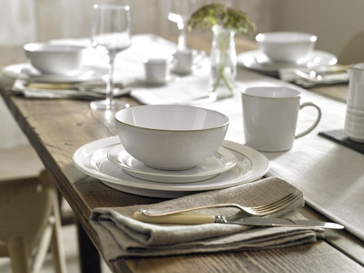 Buy Denby Natural Canvas Foundation Dinnerware Set 16 Pieces from our Tableware range at John Lewis. & 14 best Denby images on Pinterest   John lewis London flats and Mugs