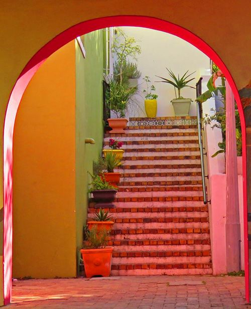 Entryway in the Bo Kaap neighborhood of Cape Town: http://bbqboy.net/incredible-colors-bo-kaap-cape-town/ #bokaap #capetown #southafrica