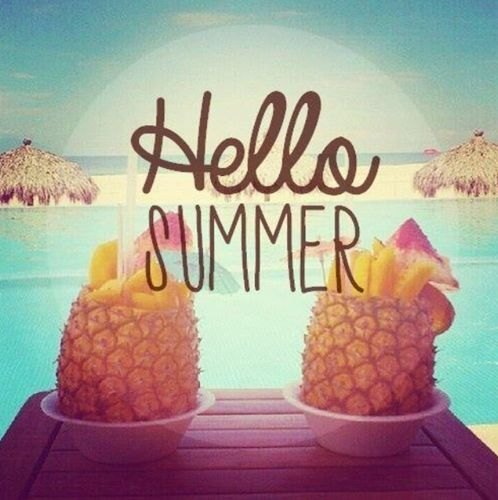 Hello Summer #summer #quotes Visit www.quotesarelife.com/ for more..