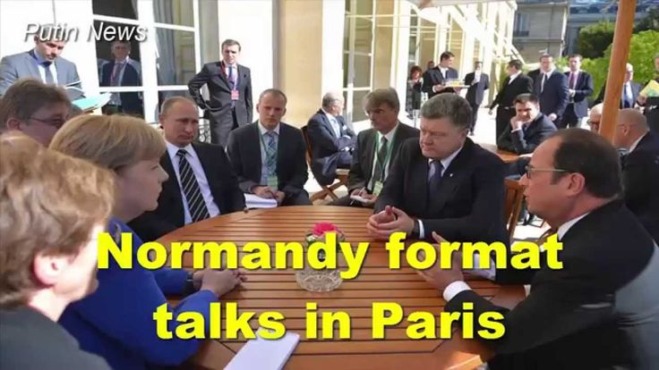 Normandy format talks in Paris