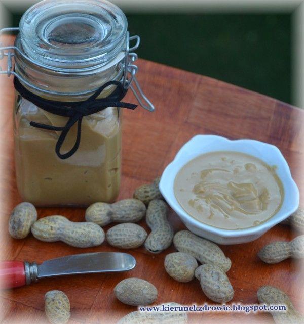 kierunek zdrowie: Masło orzechowe - przepis prosty, smaczny i zdrowy:-)