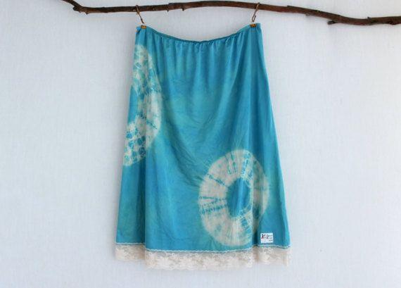 NYMPH . women's tie dye skirt . plus size 22  24 by bohemianbabes