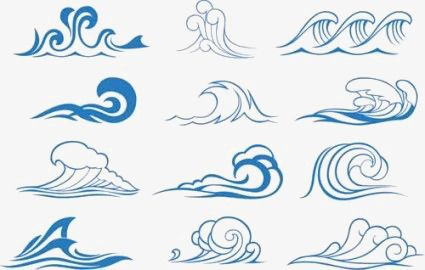 Blue Wave Wave Clipart Spray Wave Png Transparent Clipart Image And Psd File For Free Download Wave Illustration Waves Vector Wave Drawing