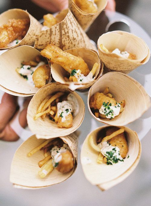 mini fish & chips