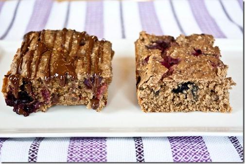Very cherry berry snack cake.