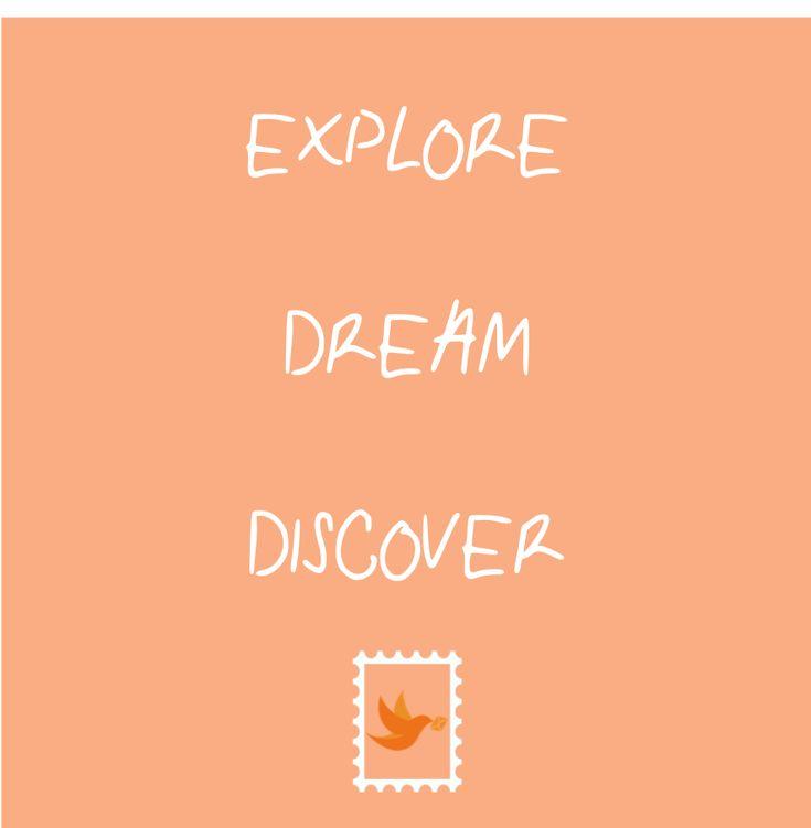 Wondrous Explore Dream Discover Postkarten Postkarten Door Handles Collection Olytizonderlifede
