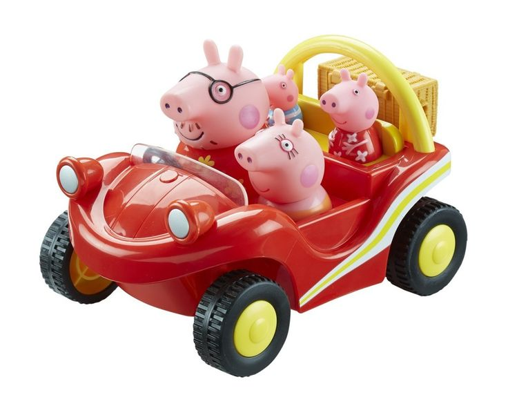 Peppa Pig Holiday Time Vacation Beach Buggy