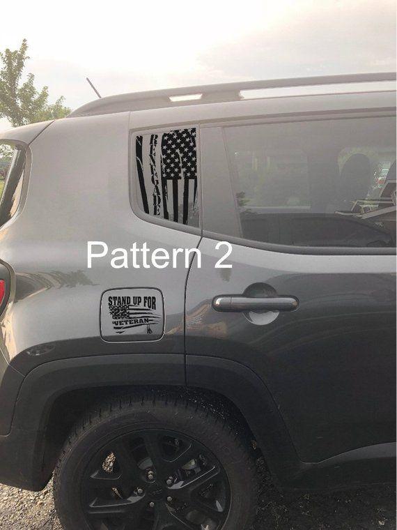 Jeep Renagade 3rd Window Pair No Trimming Jeep Jeep Renegade