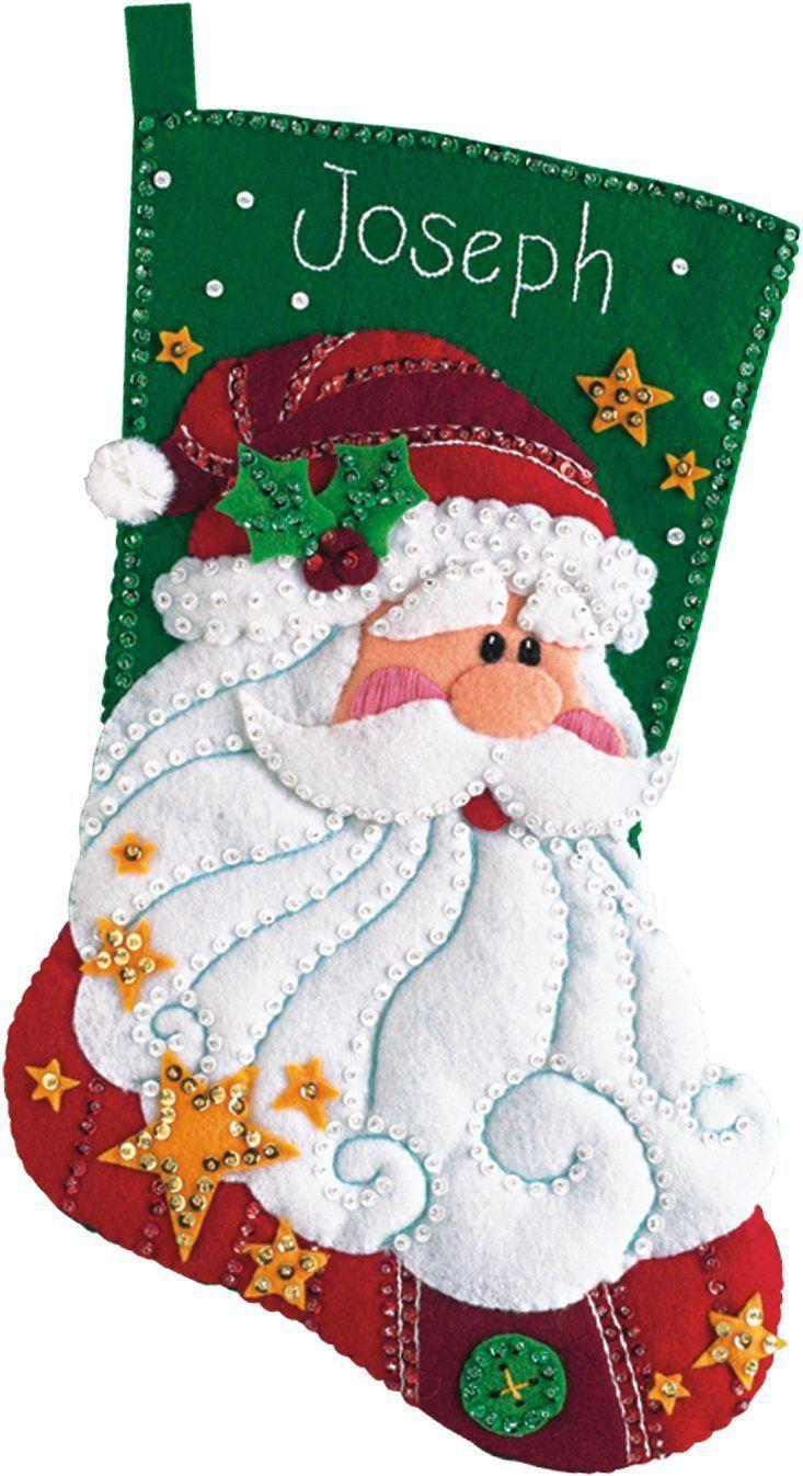 Image result for santa stocking