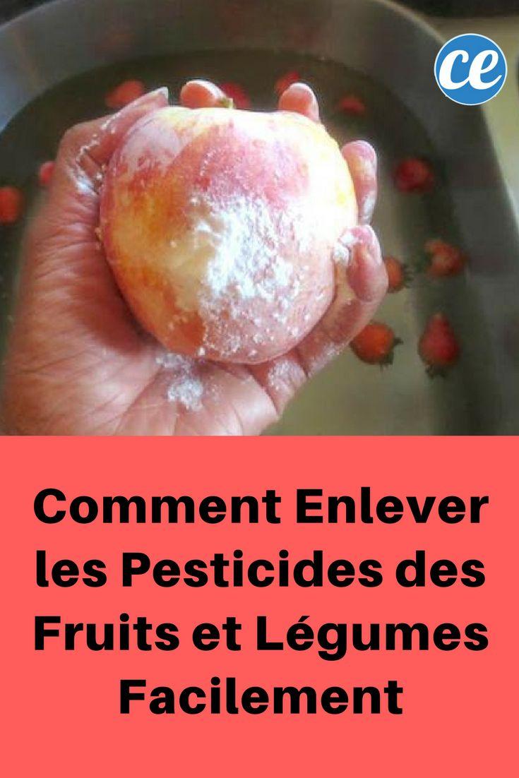 Comment Enlever les Pesticides des Fruits et Légumes Facilement.